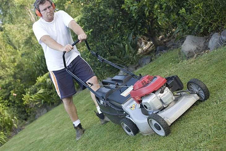 best electric lawn mower with bag