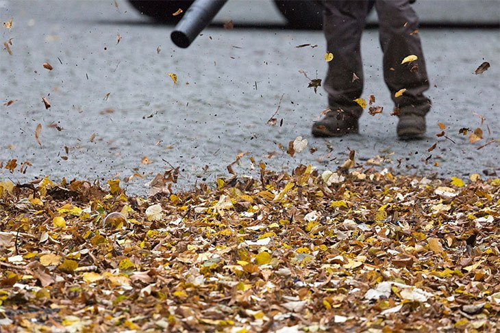 ratings of electric leaf blowers