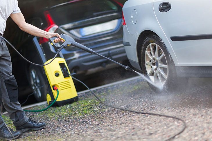 best cheap petrol pressure washer