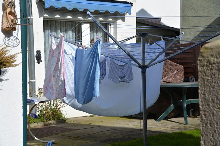 best rotary washing line cover