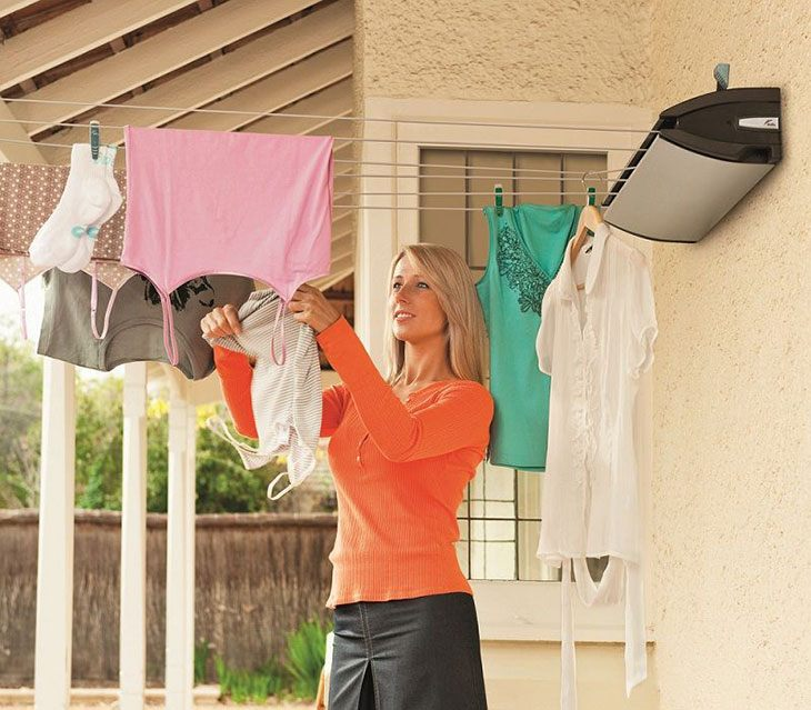 best double retractable washing line